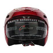 Replay Essex Wave Motorcycle Helmet Cherry Red