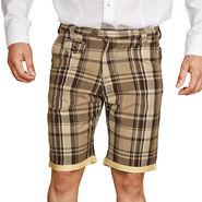 Sparrow Clothings Cotton Cargo Shorts_wjcrsht06 - Golden