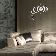 DIY Wall Clock 3D Sticker -0459S