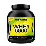 High Voltage Whey 6000 (2kg) - Vanilla Flavor