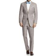 Vimal Suit Length (Coat + Trouser) For Men - Cream