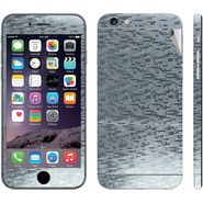 Snooky Mobile Skin Sticker For Apple iPhone 6 Plus - Silver