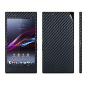 Snooky Mobile Skin Sticker For Sony Xperia Z Ultra - Black