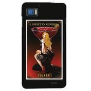 Snooky 19993 Digital Print Hard Back Case Cover For Lenovo K860 - Black