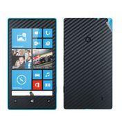 Snooky Mobile Skin Sticker For Nokia Lumia 520 20975 - Black