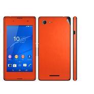 Snooky Mobile Skin Sticker For Sony Xperia E3 Dual 20859 - Orange