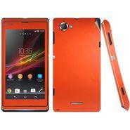 Snooky Mobile Skin Sticker For Sony Xperia L S36h C2105 20815 - Orange