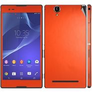 Snooky Mobile Skin Sticker For Sony Xperia T2 Ultra 20831 - Orange