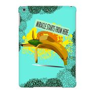Snooky Digital Print Hard Back Case Cover For Apple iPad Air 23683 - Green