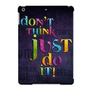 Snooky Digital Print Hard Back Case Cover For Apple iPad Air 23595 - Black
