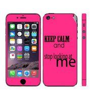 Snooky 28351 Digital Print Mobile Skin Sticker For Apple Iphone 5 - Pink