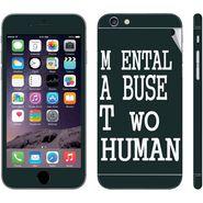 Snooky 28428 Digital Print Mobile Skin Sticker For Apple Iphone 6 Plus - Multi