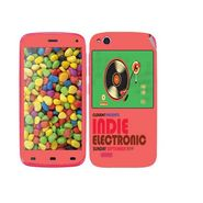 Snooky 27735 Digital Print Mobile Skin Sticker For Gionee Elife E3 - Multi