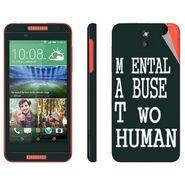 Snooky 28075 Digital Print Mobile Skin Sticker For HTC Desire 610 - Multi