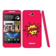 Snooky 28194 Digital Print Mobile Skin Sticker For HTC Desire 616 - Pink