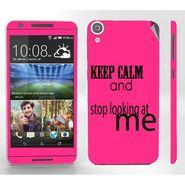 Snooky 28108 Digital Print Mobile Skin Sticker For HTC Desire 820 - Pink