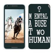 Snooky 28212 Digital Print Mobile Skin Sticker For HTC Desire 820 mini - Multi