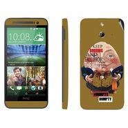 Snooky 28249 Digital Print Mobile Skin Sticker For HTC One E8 - Multi