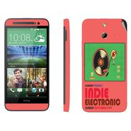 Snooky 28253 Digital Print Mobile Skin Sticker For HTC One E8 - Multi