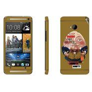 Snooky 28276 Digital Print Mobile Skin Sticker For HTC One M7 - Multi