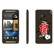 Snooky 28267 Digital Print Mobile Skin Sticker For HTC One M7 - Multi