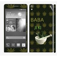 Snooky 28343 Digital Print Mobile Skin Sticker For Huawei Ascend P6 - Green