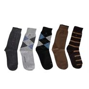 Pack Of 5 Tommy Hilfiger Cotton Printed Socks_tomso1 - Multicolor