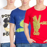 Pack of 3 Incynk Cotton T Shirts_Mhtc427