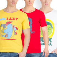 Pack of 3 Incynk Cotton T Shirts_Mhtc429