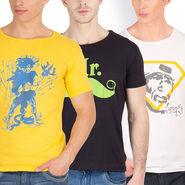 Pack of 3 Incynk Cotton T Shirts_Mhtc433