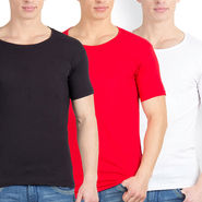 Pack of 3 Incynk Cotton T Shirts_Mhtc503