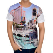 Graphic Printed Tee - Multicolor_bwts