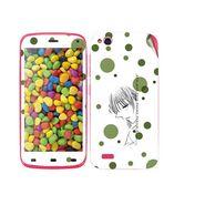 Snooky 38877 Digital Print Mobile Skin Sticker For Gionee Elife E3 - White