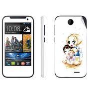 Snooky 38917 Digital Print Mobile Skin Sticker For HTC Desire 310 - White