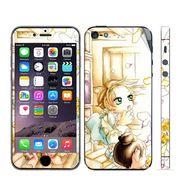 Snooky 39041 Digital Print Mobile Skin Sticker For Apple Iphone 5 - White