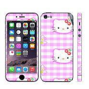 Snooky 39044 Digital Print Mobile Skin Sticker For Apple Iphone 5 - Pink