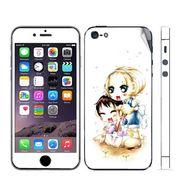Snooky 39049 Digital Print Mobile Skin Sticker For Apple Iphone 5 - White