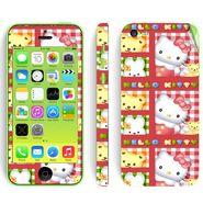 Snooky 39054 Digital Print Mobile Skin Sticker For Apple Iphone 5C - Pink