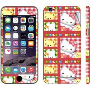Snooky 39078 Digital Print Mobile Skin Sticker For Apple Iphone 6 Plus - Pink