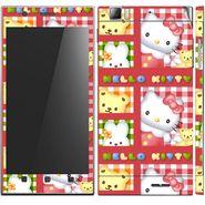 Snooky 39138 Digital Print Mobile Skin Sticker For Lenovo K900 - Pink