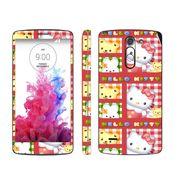 Snooky 39150 Digital Print Mobile Skin Sticker For LG G3 Stylus - Pink