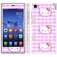 Snooky 39188 Digital Print Mobile Skin Sticker For Xiaomi Mi3 - Pink