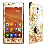 Snooky 39209 Digital Print Mobile Skin Sticker For Xiaomi Redmi 1s - White