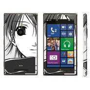 Snooky 39290 Digital Print Mobile Skin Sticker For Nokia Lumia 925 - Gray