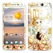 Snooky 39353 Digital Print Mobile Skin Sticker For OPPO N1 Mini - White