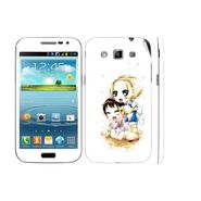Snooky 39421 Digital Print Mobile Skin Sticker For Samsung Galaxy Grand Quattro 8552 - White