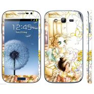 Snooky 39425 Digital Print Mobile Skin Sticker For Samsung Galaxy Grand Duos I9082 - White