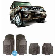Digitru - Car Rubber Foot Mat Bolero (Black) _ DG20150106