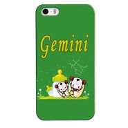 Snooky 35156 Digital Print Hard Back Case Cover For Apple iPhone 5s - Green