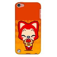 Snooky 35330 Digital Print Hard Back Case Cover For Apple iPod touch 5th Generation - Orange